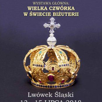 """Wystawa główna XXI Lwóweckiego Lata Agatowego pn. """"Wielka czwórka w świecie biżuterii"""""""